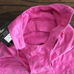 Avia Tops - Avia pink compression tank top NWT